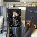 Hydrogen-Deuterium Exchange cooling chamber