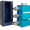 3 valve cooling chamber for Hydrogen-Deuterium Exchange