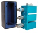 cooling chamber for chromatography