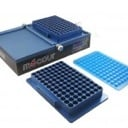 2 microplate landscape design thermal block, protective top cover & 1.1mL glass vial Thermal Insert