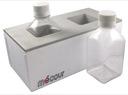 Media bottles, 1 liter twin Thermal Block