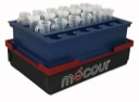 Eppendorf tubes with cap slot Thermal Insert & Thermal Block