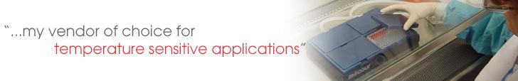 vendor choice for temperature sensitive applications