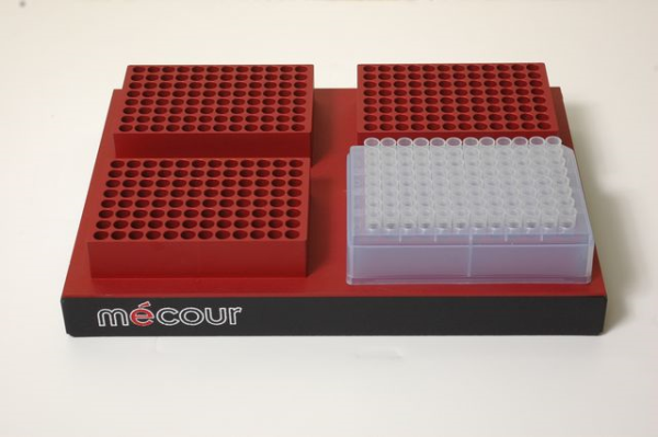 Tubes, 2mL -- 4 twenty eight tube compartments in Thermal Block
